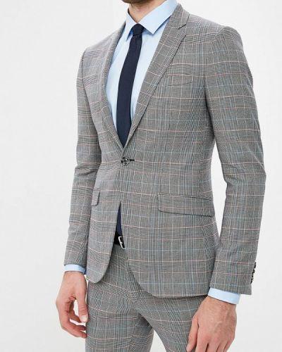 Серый пиджак Topman