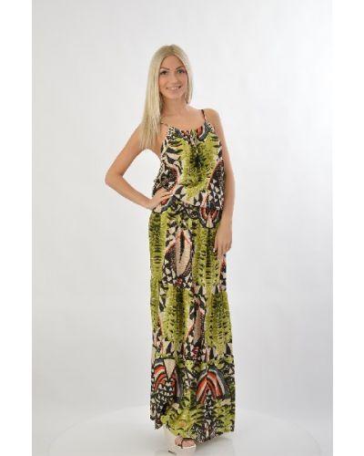 Разноцветное платье Hale Bob