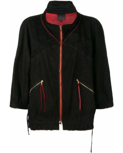Черная куртка с манжетами Fendi Pre-owned