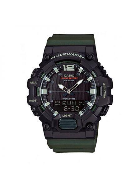Zielony zegarek Casio