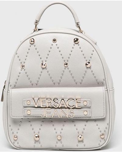Джинсы mom бежевые Versace Jeans