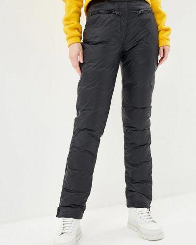 Черные брюки утепленные Odri