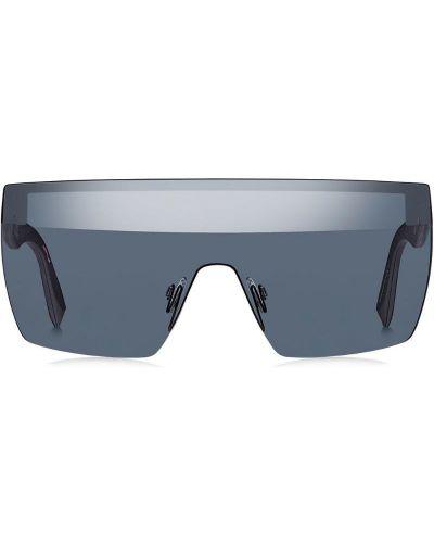 Солнцезащитные очки металлические - черные Max Mara