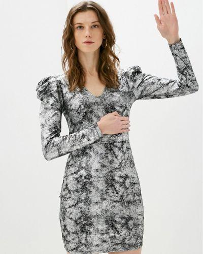 Серебряное вечернее платье Jacqueline De Yong