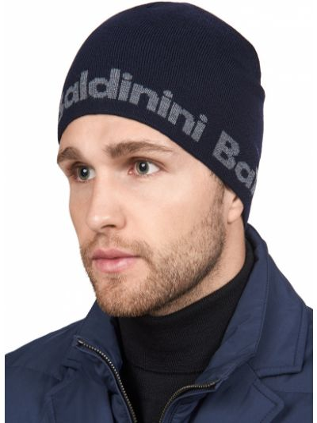 Синяя шапка Baldinini