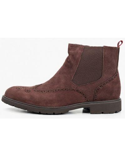 Коричневые ботинки Rossini Roberto