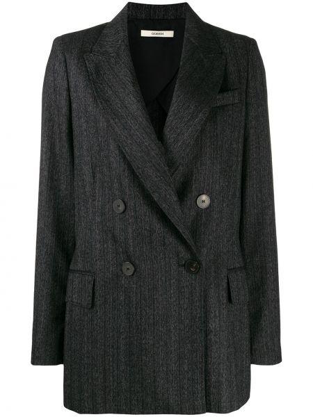 Удлиненный пиджак на пуговицах свободного кроя Odeeh