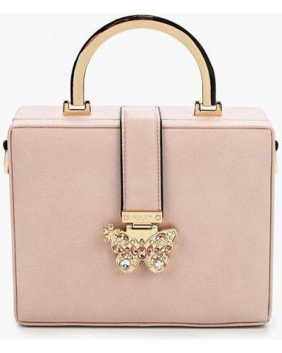 Розовая кожаный сумка Dune