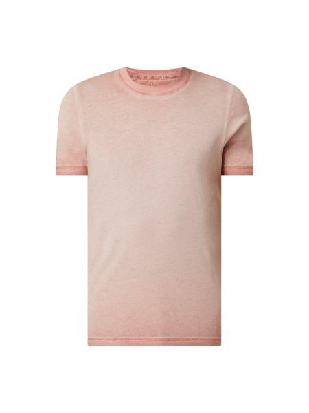 T-shirt bawełniana - różowa Q/s Designed By