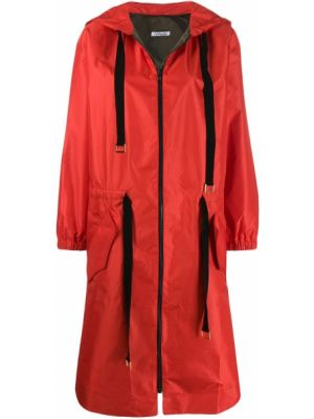 Красный длинное пальто Parlor