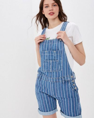 Джинсовый комбинезон турецкий синий Pepe Jeans