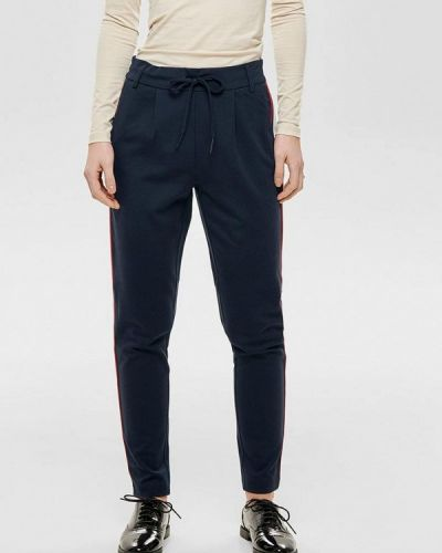Синие брюки повседневные Only