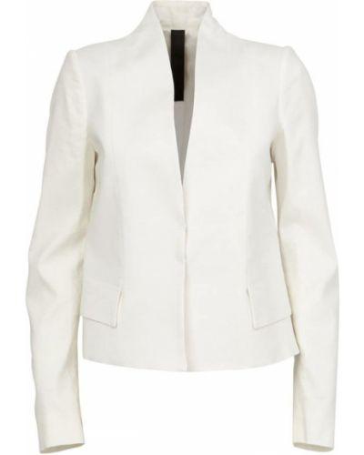 Льняной пиджак - белый Ilaria Nistri
