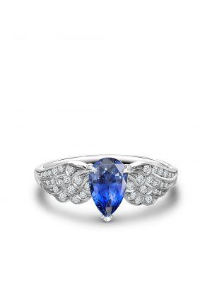 Z rombem srebro tiara z diamentem Pragnell