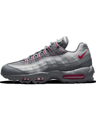 Повседневные серые кроссовки однотонные Nike