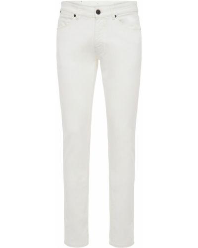 Białe jeansy bawełniane Pantaloni Torino