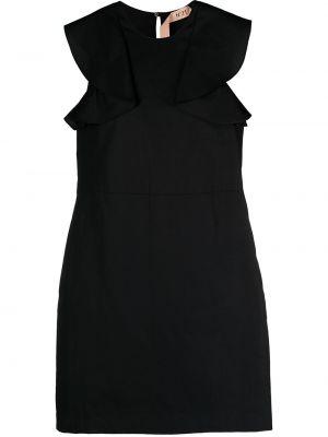 Платье трапеция - черное N°21