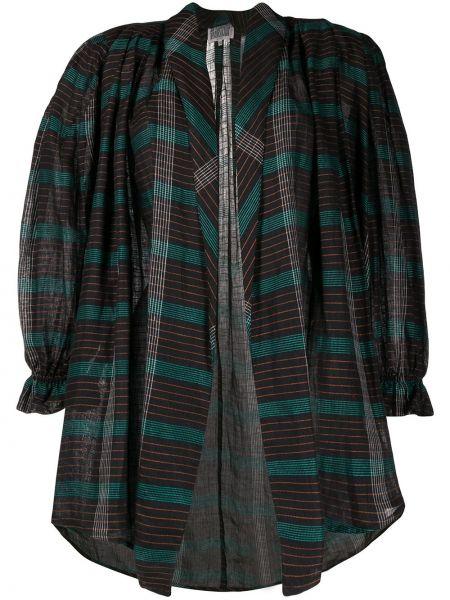 Черный пиджак в клетку винтажный A.n.g.e.l.o. Vintage Cult