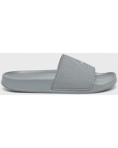 Серые сандалии текстильные Reebok