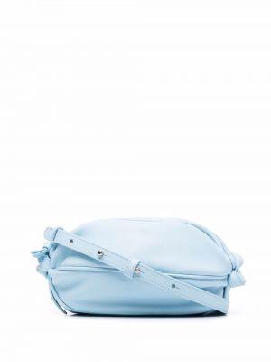 Niebieska torebka skórzana Hereu