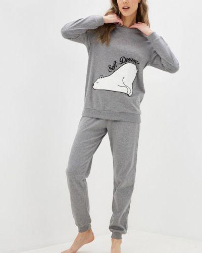 Серая пижамная пижама Intimissimi