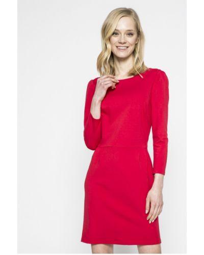 Платье мини прямое с вырезом Answear