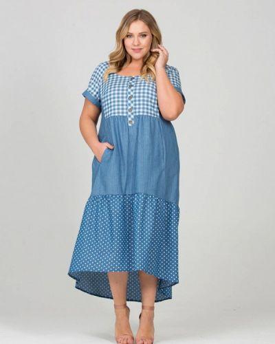 Голубое платье Intikoma