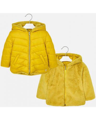 Куртка двусторонняя желтый Mayoral