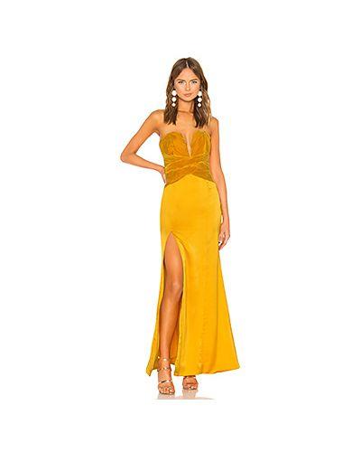 Вечернее платье с завышенной талией на молнии Lovers + Friends