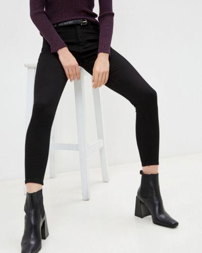 Черные джинсы-скинни узкого кроя Tantra