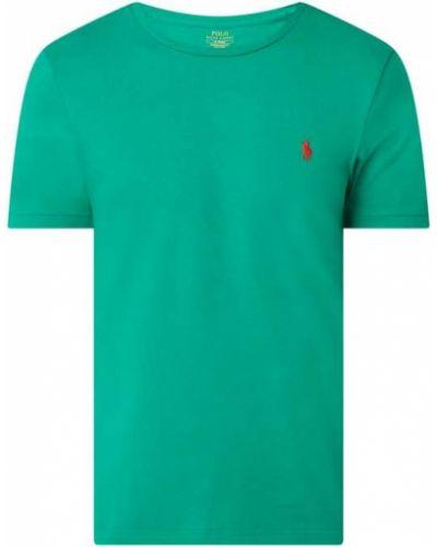 Zielony t-shirt bawełniany Polo Ralph Lauren