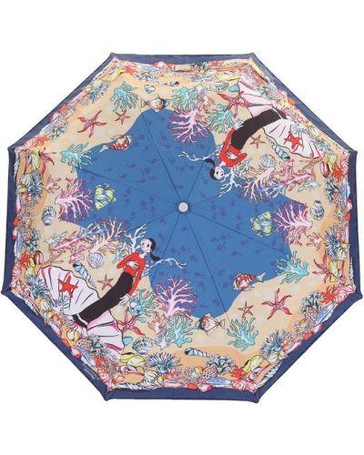 Красный зонт складной Moschino