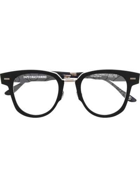 Czarna oprawka do okularów A Bathing Ape®
