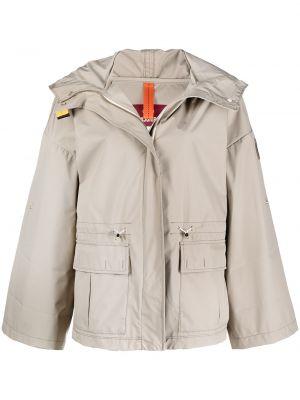 Куртка с капюшоном милитари на молнии Parajumpers