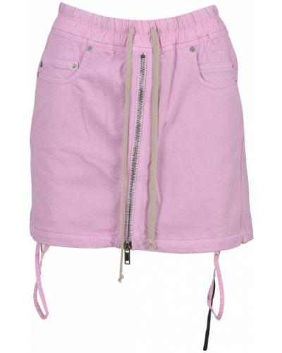 Różowa spódnica Rick Owens