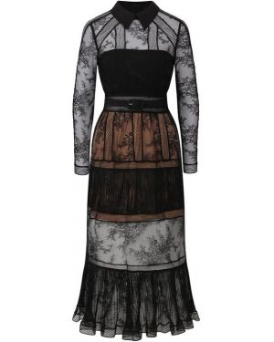 Платье миди Self-portrait