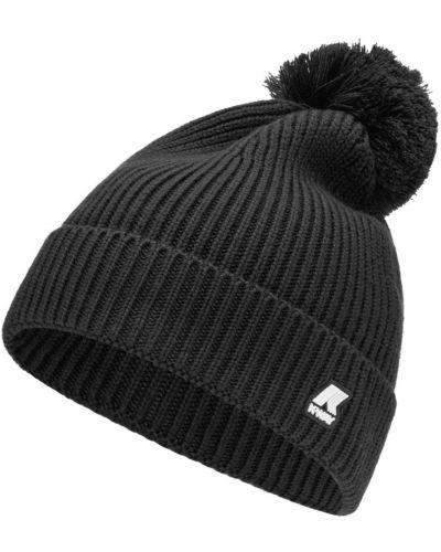Czarny czapka baseballowa K-way