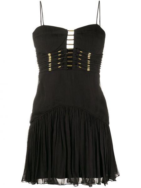 Sukienka mini z falbankami z paskiem Thurley