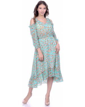 Летнее платье платье-сарафан шифоновое Lautus
