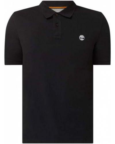 T-shirt bawełniana - czarna Timberland