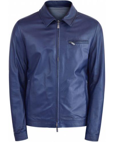 Кожаная куртка Canali