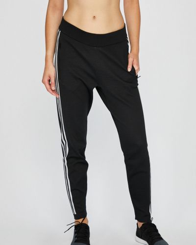 Спортивные брюки с лампасами на резинке Adidas Performance