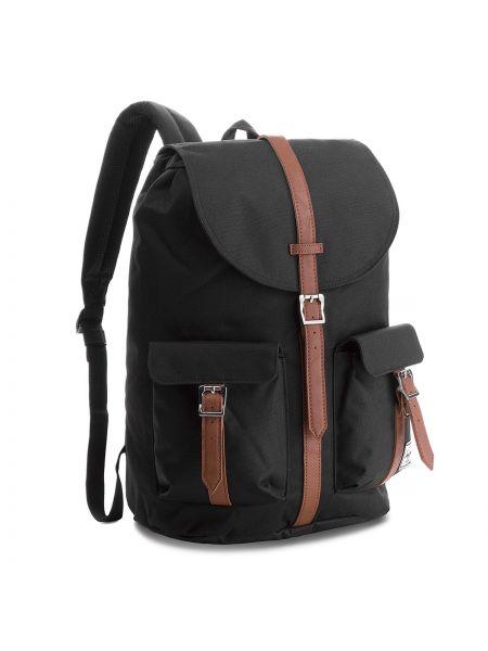 Skórzany plecak czarny Herschel