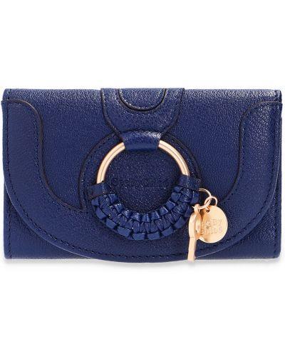 Niebieski portfel See By Chloe