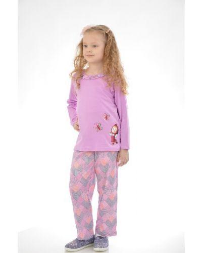 Пижама со штанами - фиолетовая Lowry