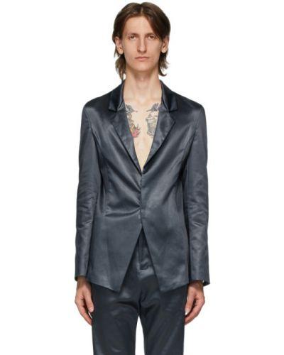 Костюмный серебряный костюм прозрачный Ludovic De Saint Sernin