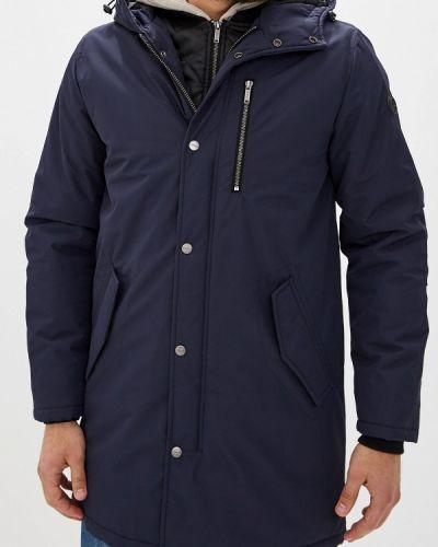 Утепленная куртка - синяя Gaudi