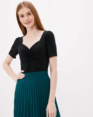 Блузка с коротким рукавом турецкий черная Adl