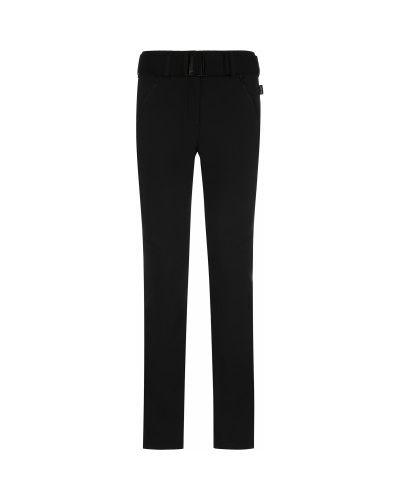 Облегающие черные спортивные брюки мембранные Glissade