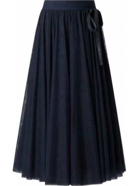Spódnica rozkloszowana tiulowa - niebieska Joop!